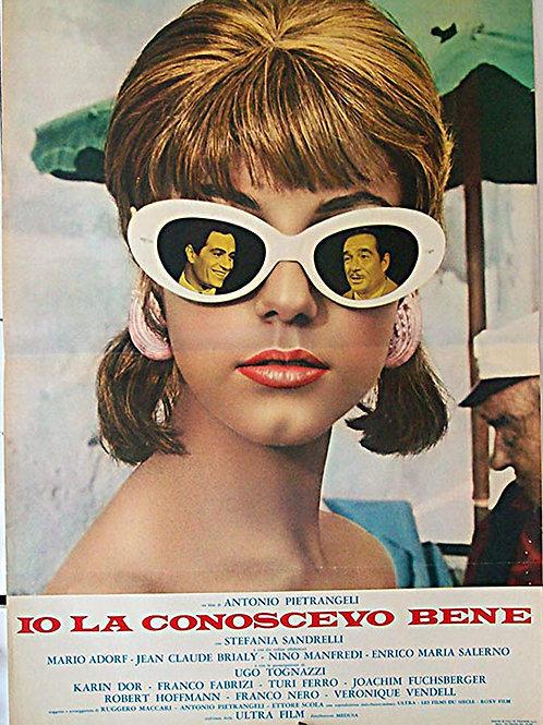 CONHEÇO BEM ESSA  MOÇA (Io La Conoscevo Bene, 1965)
