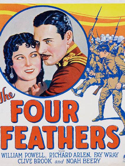 AS QUATRO PENAS (The Four Feathers, 1929)