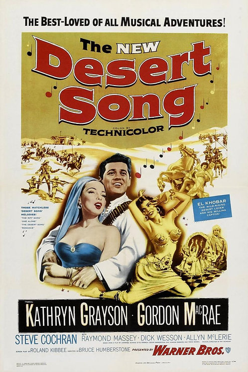 A CANÇÃO DO SHEIK  (The Desert Song, 1953)