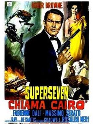 SUPERSEVEN-AGENTE PARA MATAR (Superseven Chiama Cairo, 1965)