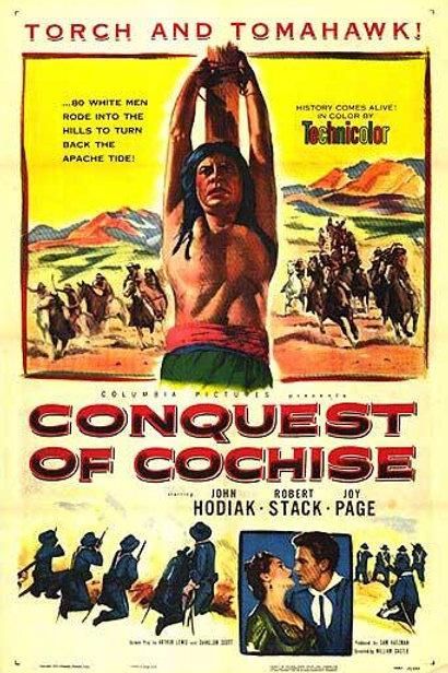 CONQUISTA DE APACHE (Conquest of Cochise,1953)