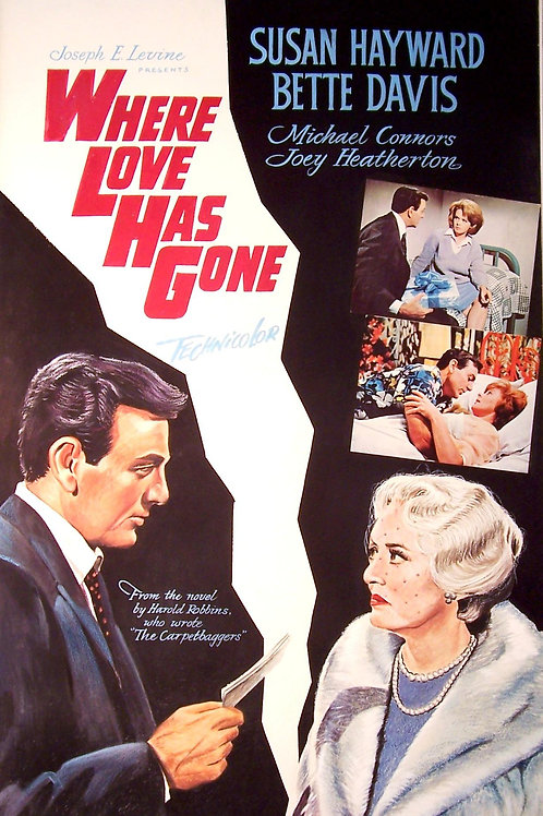 ESCÂNDALO NA SOCIEDADE (Where Love Has Gone?, 1964)