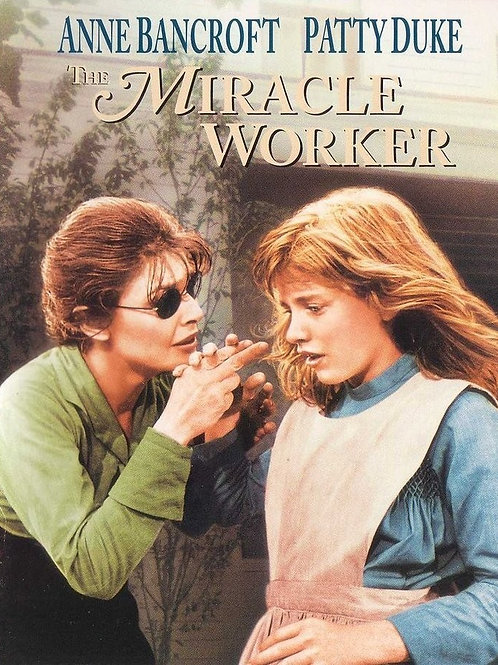 O MILAGRE DE ANNE SULLIVAN (The Miracle Worker, 1962)
