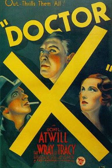O MONSTRO (Doctor X, 1932)
