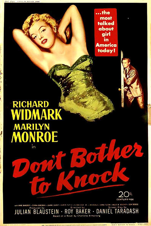 ALMAS DESESPERADAS (Don't Bother To Knock, 1952)