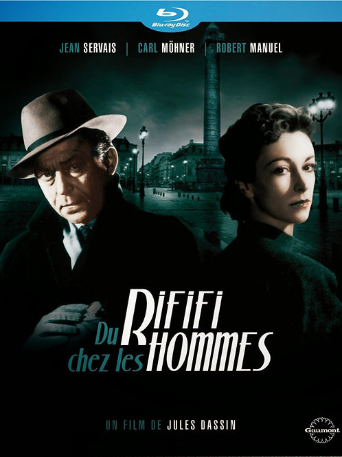 RIFIFI (Du Rififi Chez Les Hommes, 1955)Blu ray