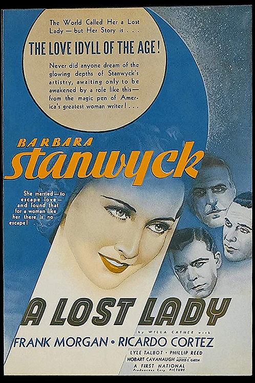 A MULHER QUE EU ACHEI (A Lost Lady, 1934)