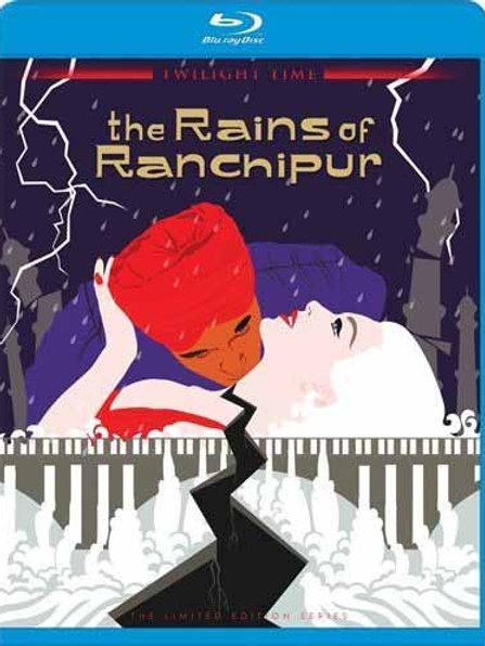 AS CHUVAS DE RANCHIPUR (The Rains of Ranchipur, 1955) Blu-ray