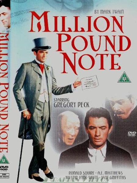 LOUCURAS DE UM MILIONÁRIO (The Million Pound Note, 1954)