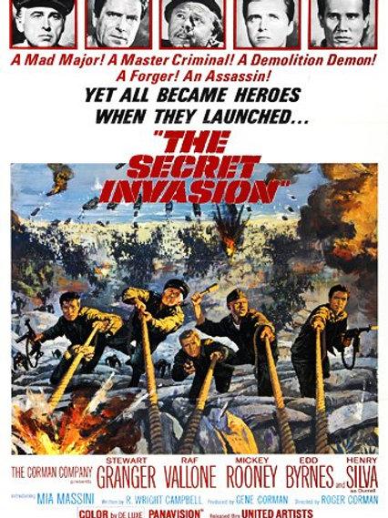 A INVASÃO SECRETA (The Secret Invasion, 1964)