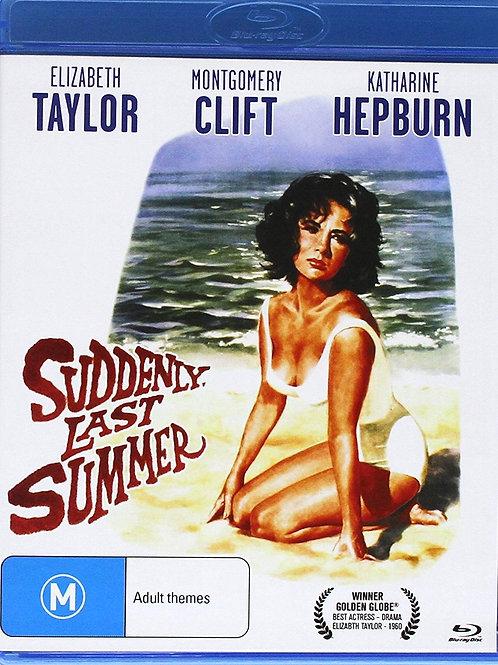 DE REPENTE, NO ÚLTIMO VERÃO (Suddenly, Last Summer, 1959) Blu-ray