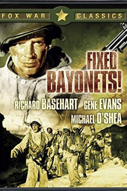 BAIONETAS CALADAS (Fixed Bayonets!, 1951)