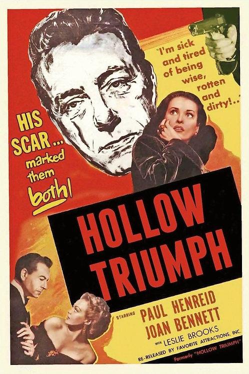 A CICATRIZ (Hollow Triumph, 1948)