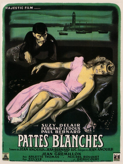 A MULHER DESEJADA (Pattes Blanches, 1949)
