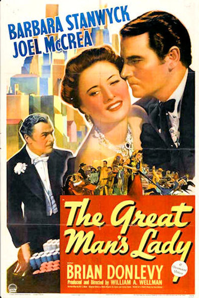 ATÉ QUE A MORTE NOS SEPARE (The Great Man's Lady, 1942)