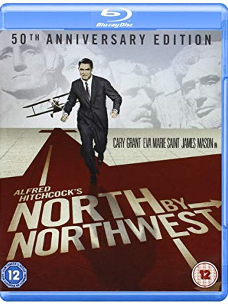 INTRIGA INTERNACIONAL (North by Northwest, 1959) Blu-ray