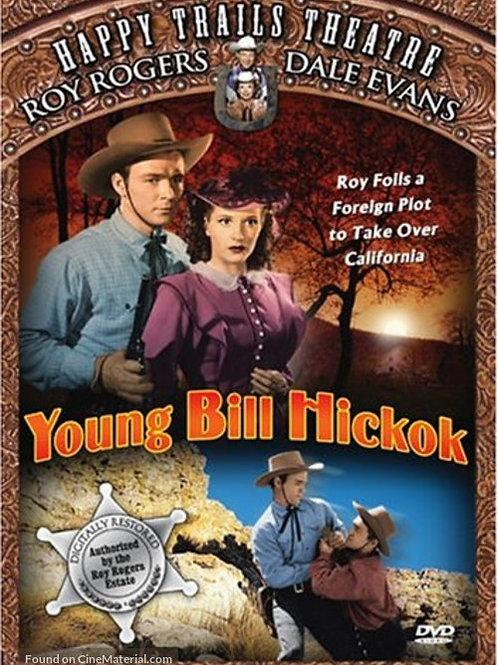 SEDE DE OURO (Young Bill Hickok, 1940)