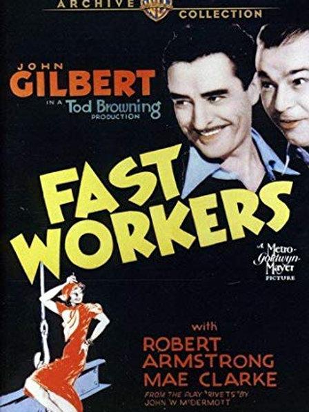 PERDÃO, SENHORITA (Fast Workers, 1933)