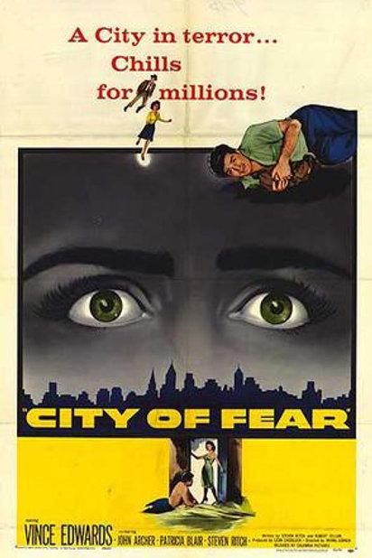 PÂNICO QUE EMUDECE (City of Fear, 1959)