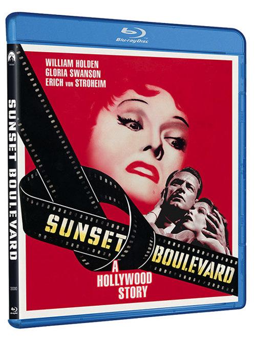CREPÚSCULO DOS DEUSES (SunsetBoulevard, 1950)Blu-ray