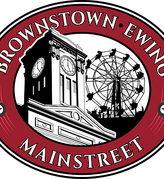Brownstown Ewing Mainstreet Logo 2017 2.