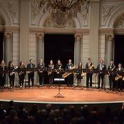 Fontys Saxophone Ensemble in the Concertgebouw Amsterdam