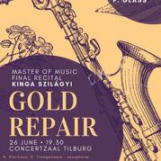 Poster Master of Music recital