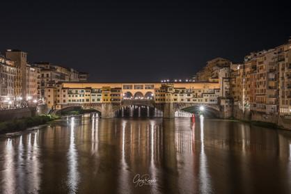 Ponte Vecchio at night
