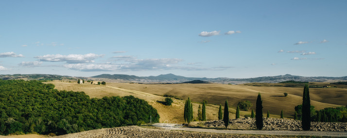 Val D' Orcia view