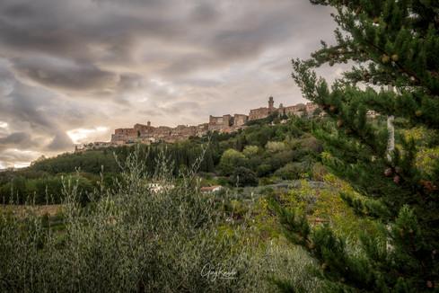 Montepulciano view