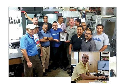 Production teamat Hunter Manufacturing, Fairfield, NJ.