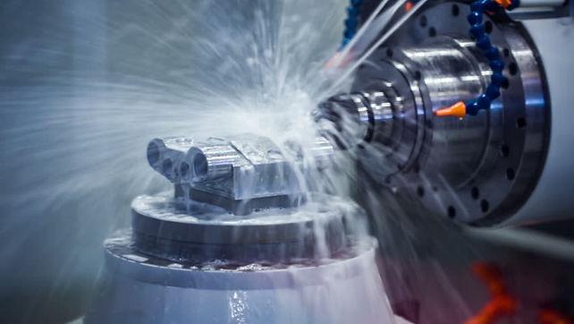 Hunter Manufacturing CNC machine shop production.