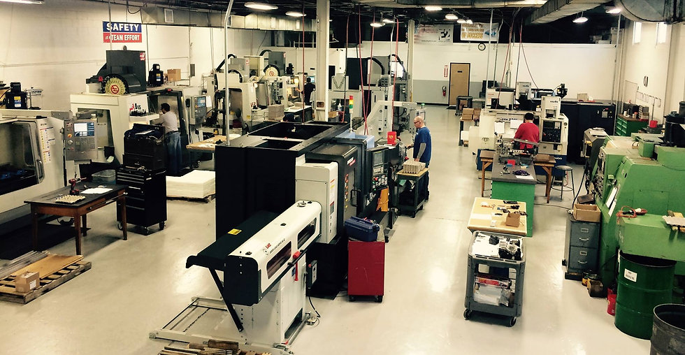Hunter Manufacturing Services, Inc. Precision CNC Machine Shop, Fairfield, NJ, USA