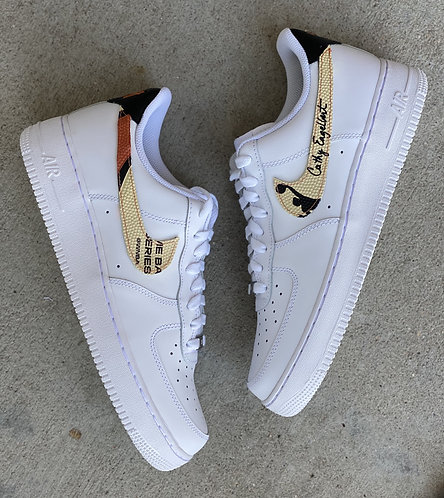 """""""Count It"""" Air Force 1 Low - Base Shoe INCLUDED"""