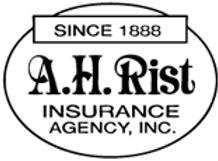 2018 Franklin County Pride Sponsor - A.H. Rist Insurance Agency