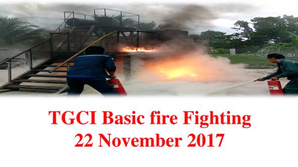 TGCI ซ้อมแผนรับมือเหตุฉุกเฉินปี 2560