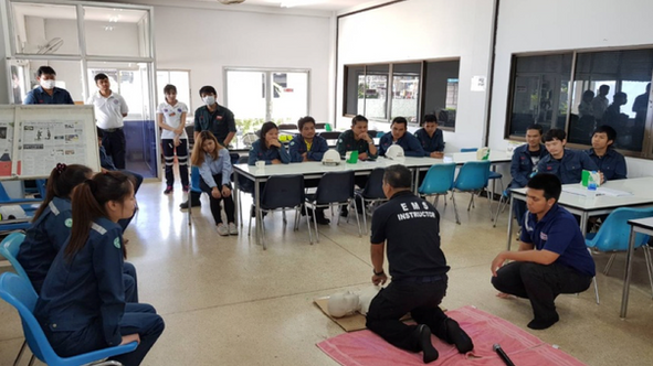 TGCI  First Aids & CPR Training