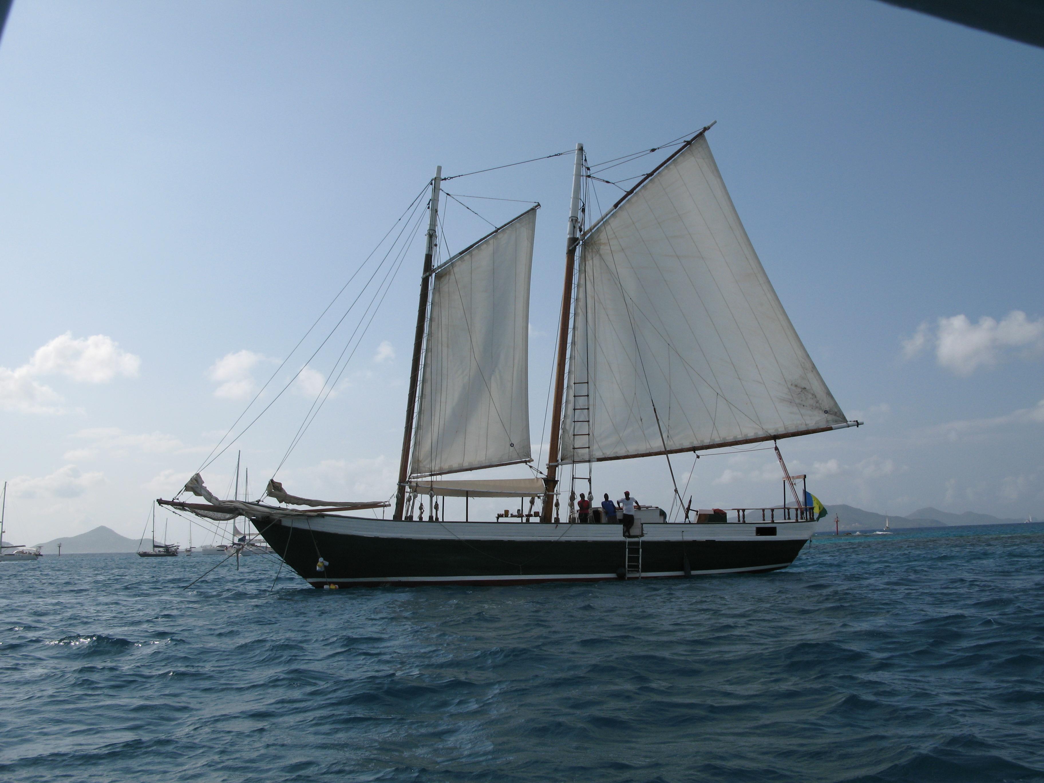 scaramouche to the Tobago Keys