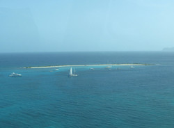 snorkel at sandy island