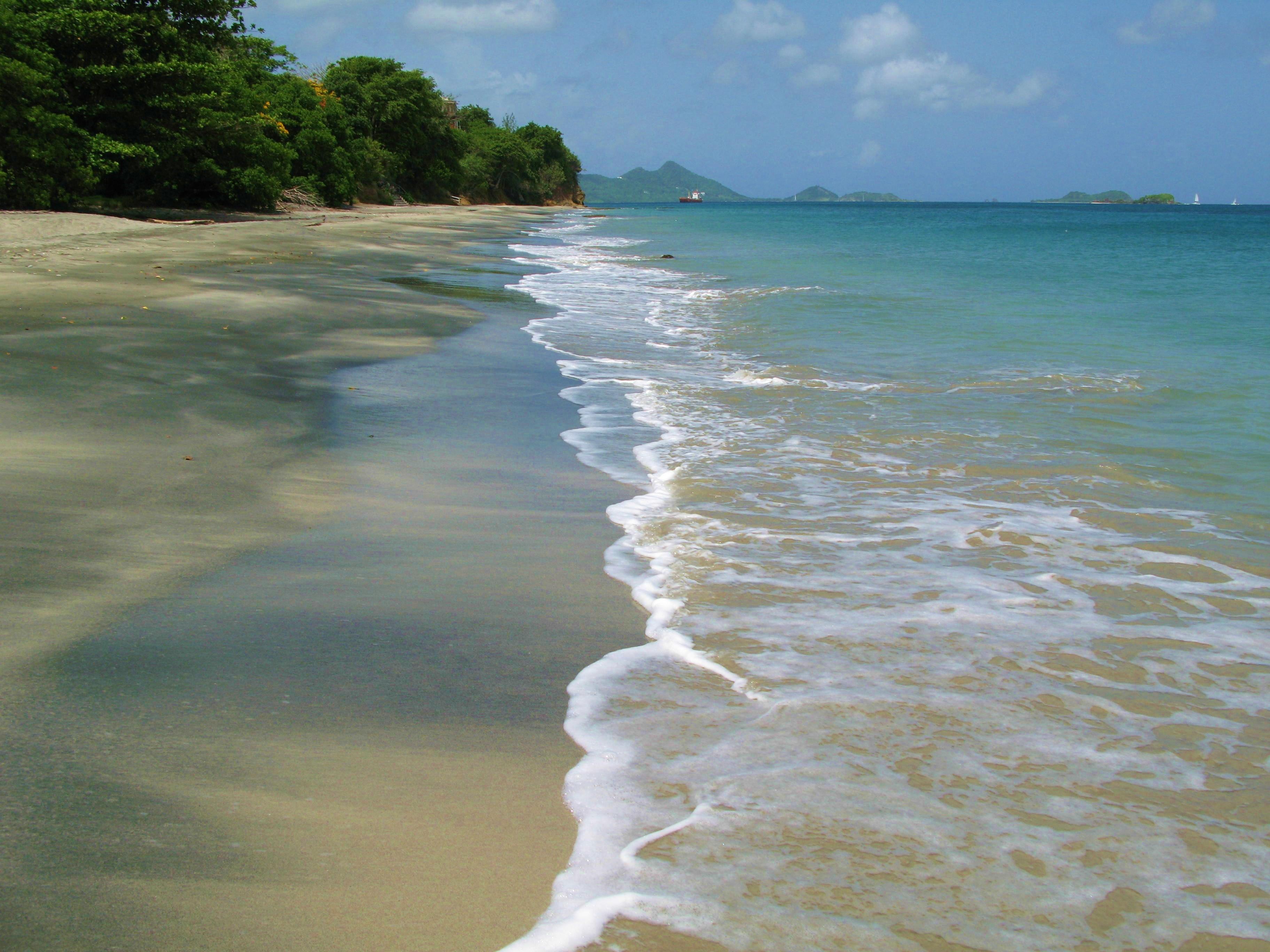 Sparrow Bay is a ten minute walk