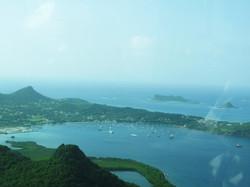 aerial view, tyrrel bay