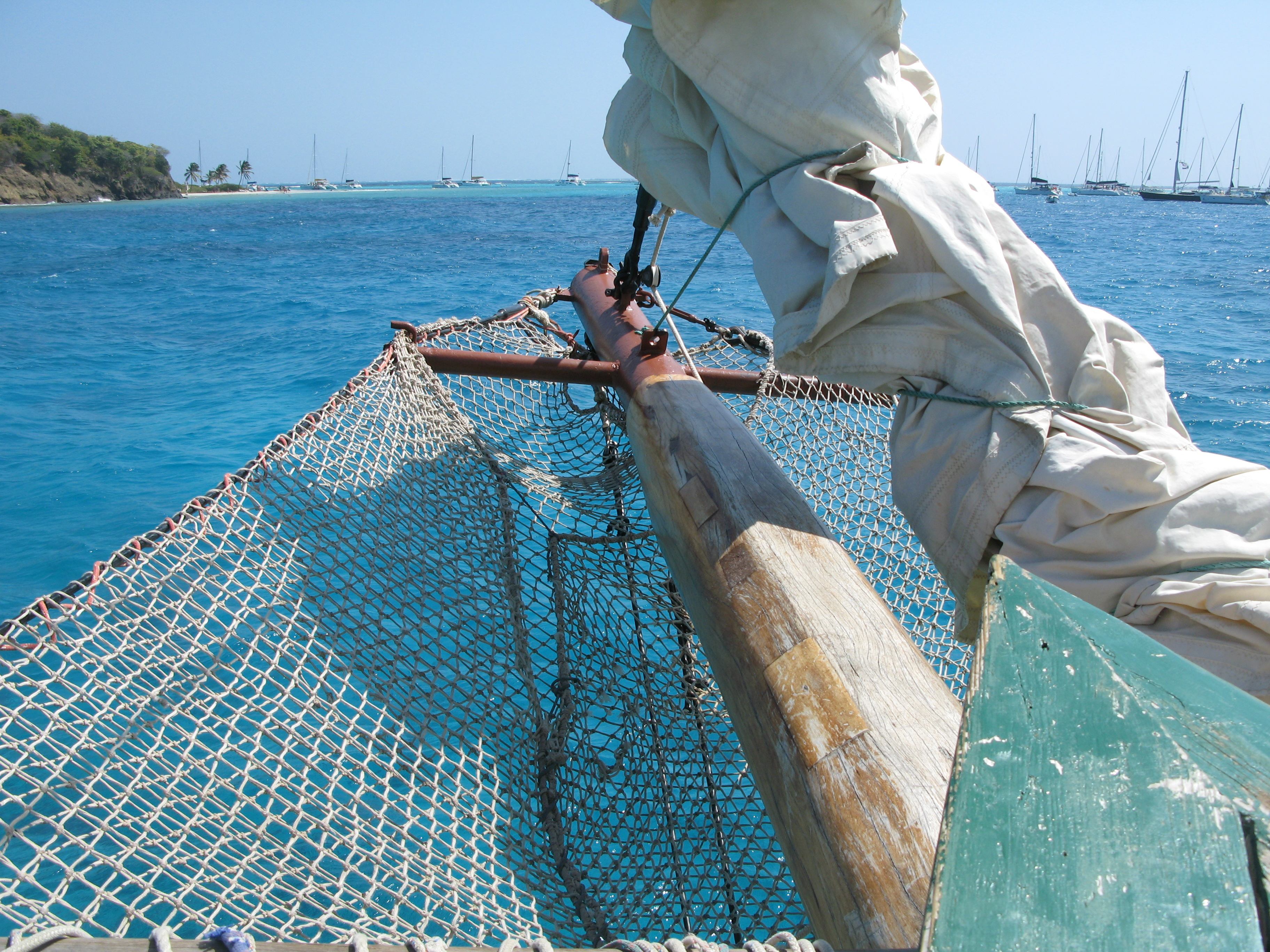 sail the Tobago Keys