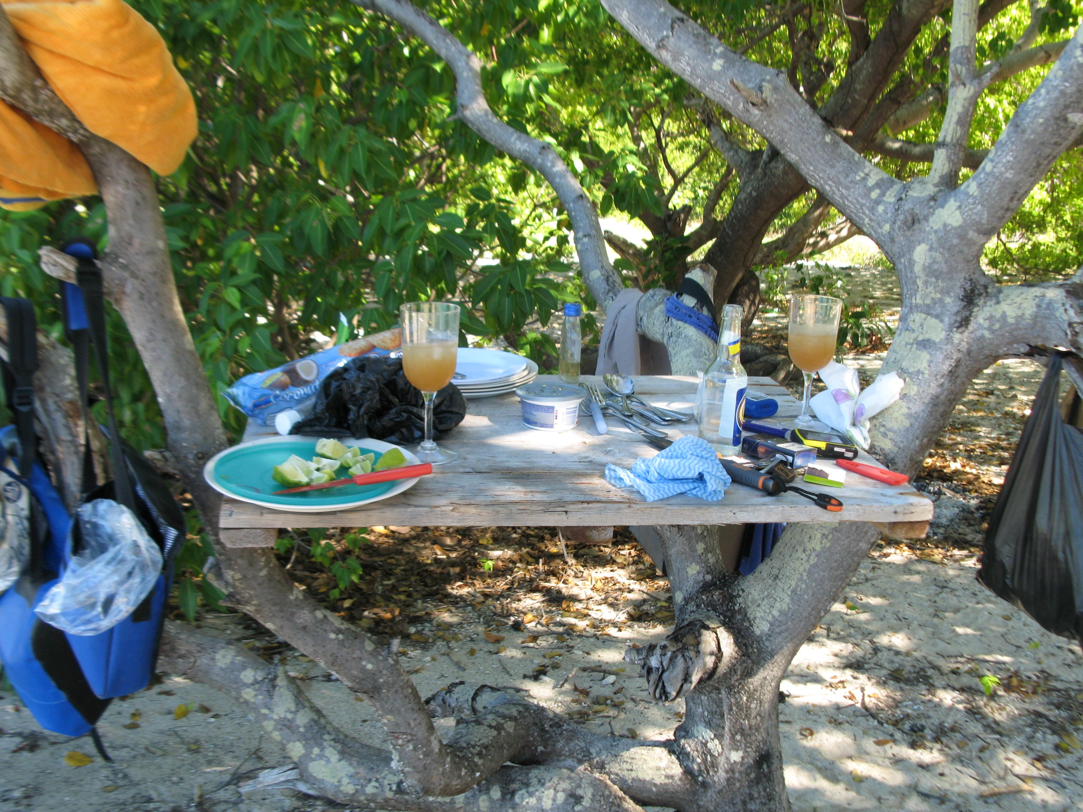 have island picnics