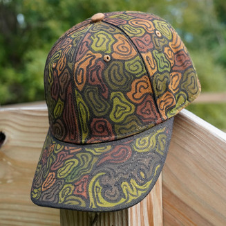 Air brushed hats