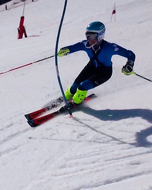 COURCHEVEL UP GOES SKIING