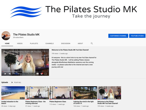 The Pilates Studio MK - online!!