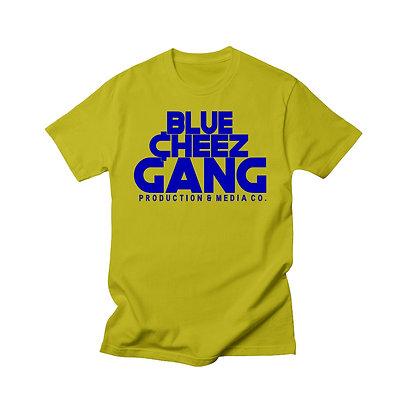 Blue Cheez Gang Promo T-Shirt (Gold)