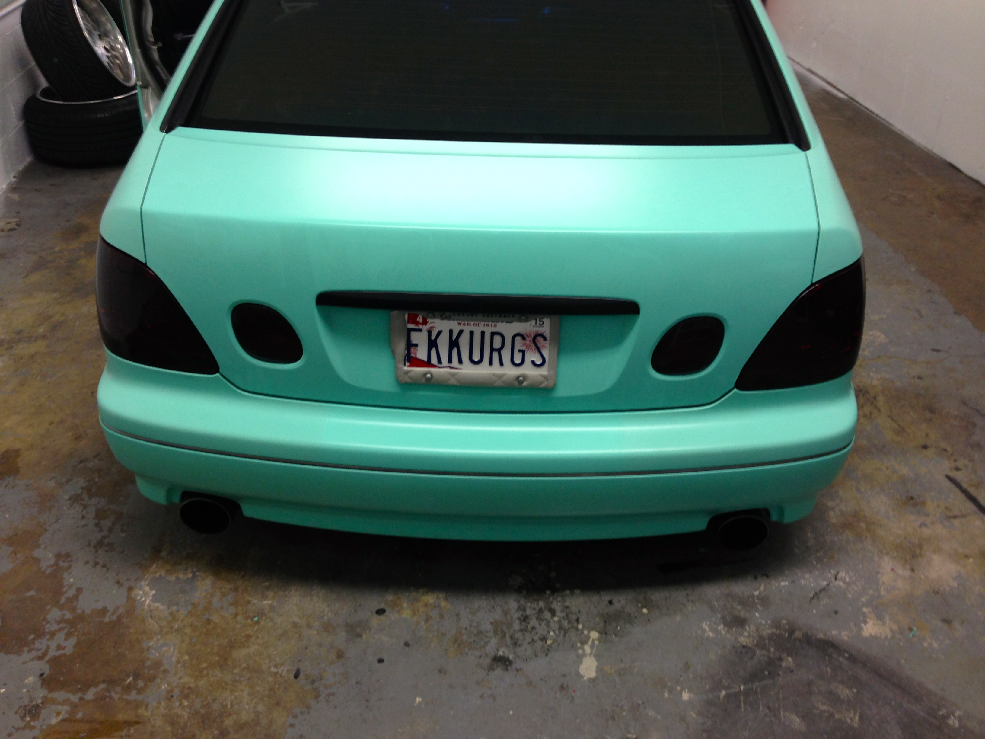 Lexus Paint Job