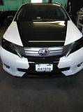 lexus vehicle wrap cartoys maryland