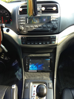 Car Dash Display Installation